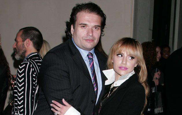 Simon Monjack i Brittany Murphy, fot. David Livingston   /Getty Images/Flash Press Media