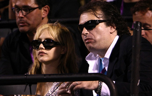 Simon Monjack z Brittany Murphy, fot. Chris McGrath  /Getty Images/Flash Press Media