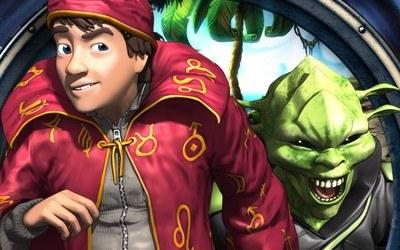 Simon the Sorcerer 5: Kto nawiąże kontakt? - fragment okładki z gry /Informacja prasowa
