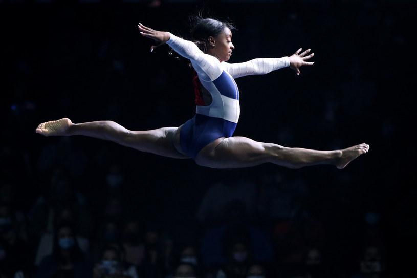 Simone Biles nie ma za sobą łatwego czasu /Katharine Lotze / Staff /Getty Images