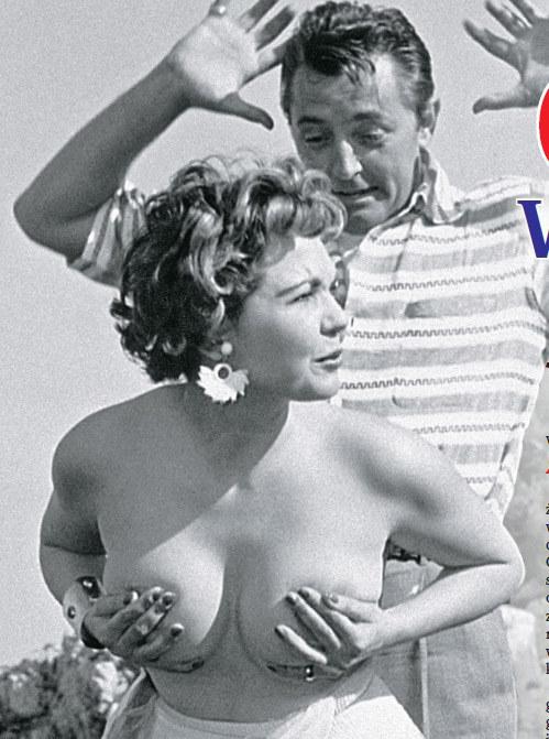Simone Silva i Robert Mitchum w Cannes /Życie na gorąco