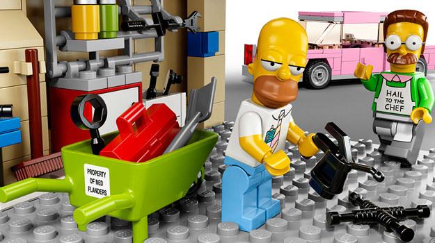 Simpsonowie w wersji LEGO /materiały prasowe