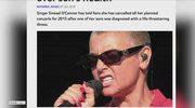 Sinead O'Connor odwołała wszystkie koncerty zaplanowane na 2015 rok