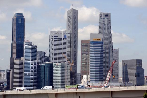 Singapur to jedno z miast, które skorzystało najwięcej na teleinformatyce /AFP