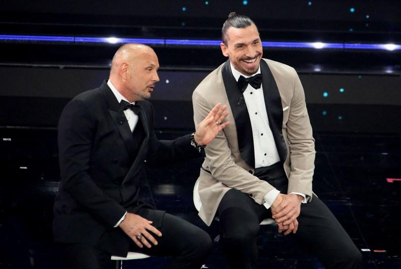 Siniša Mihajlović, trener Bologna FC, i Zlatan Ibrahimović /AFP