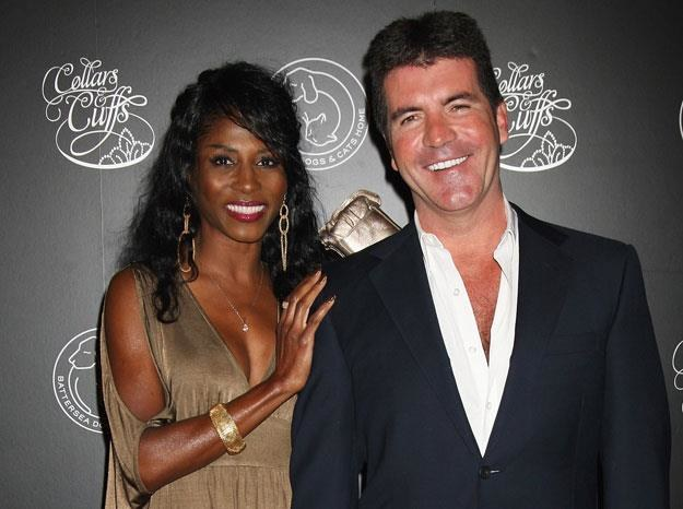 Sinitta i Simon Cowell byli w latach 80. parą fot. Chris Jackson /Getty Images/Flash Press Media