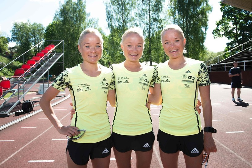 Siostry Luik z Estonii: Leila, Liina and Lily Luik /AFP