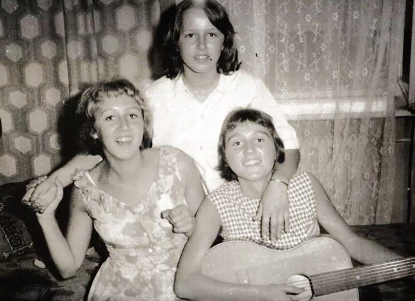 Siostry Szydłowskie w młodości /materiały promocyjne