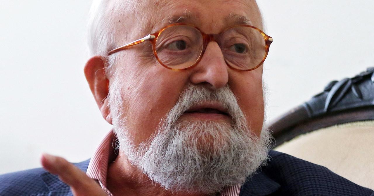Siostrzeniec Krzysztofa Pendereckiego zachęca do publikowania prywatnych zdjęć z kompozytorem