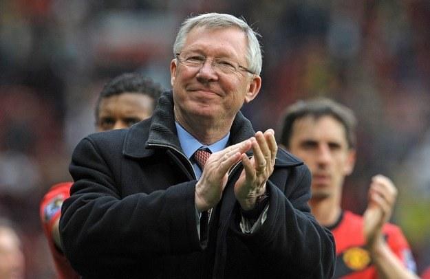 Sir Alex Ferguson - człowiek, dla którego nie ma rzeczy niemożliwych /AFP