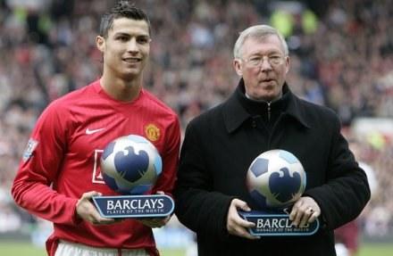 Sir Alex Ferguson nie chce puścić Ronaldo do Realu /INTERIA.PL/PAP