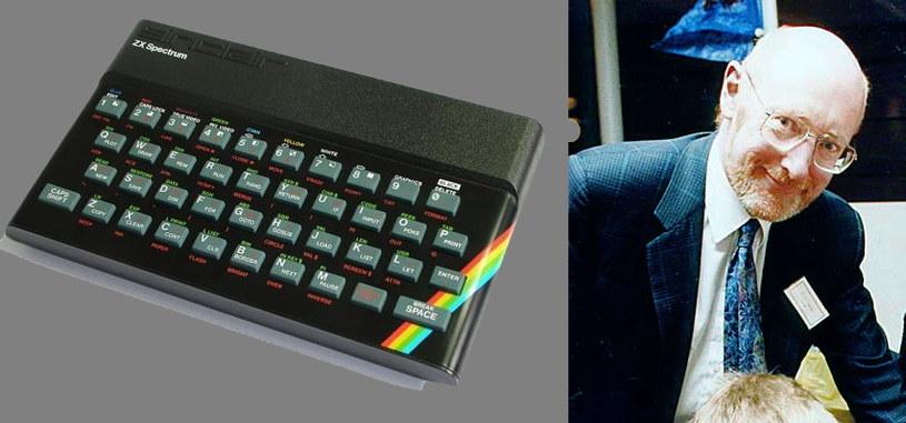 Sir Clive Sinclair i legendarny komputer ZX Spectrum /Wikipedia