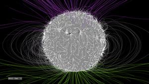 Skąd się bierze pole magnetyczne Słońca?