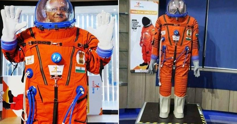 Skafander kosmiczny ISRO /materiały prasowe
