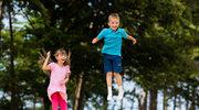 Skakanie na trampolinie dla zdrowia i sylwetki
