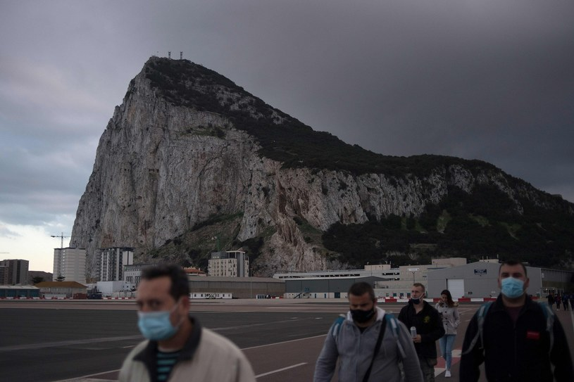 Skała Gibraltaru /JORGE GUERRERO /AFP