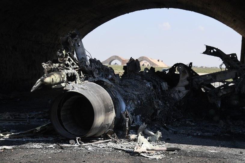 Skala zniszczeń w al-Shajrat jest stosunkowo nieduża - podają rosyjskie media /Mikhail Voskresenskiy  /East News