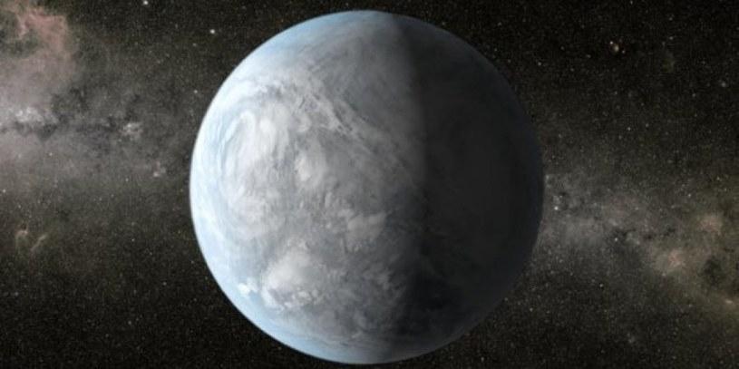 Skalista super-Ziemia, w całości skuta lodem - możliwy wygląd Wolf 1061d? /materiały prasowe