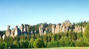Skalne Miasto (Czechy). Wśród skalnych murów i baszt