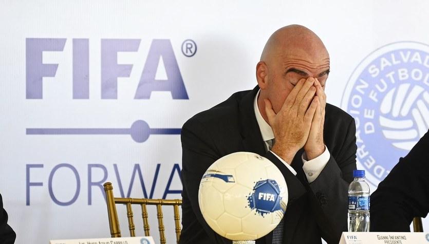 Skandal w FIFA! Prezydent Gianni Infantino przyłapany na kłamstwie