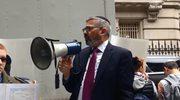 """Skandal w Nowym Jorku. Rabin mówi o """"odpowiedzialności Polaków"""" za Holokaust"""