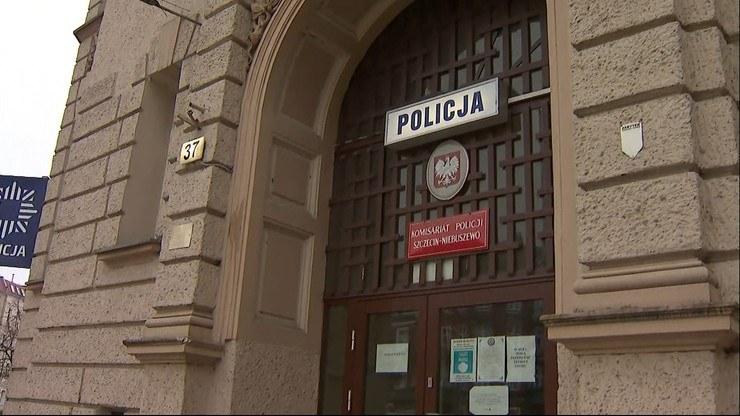 Skandal w szczecińskiej policji /Polsat News