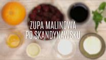 Skandynawska zupa malinowa