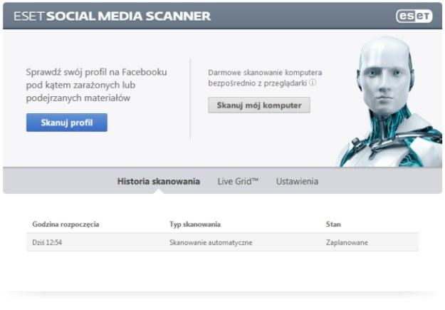 Skaner Facebooka /materiały prasowe