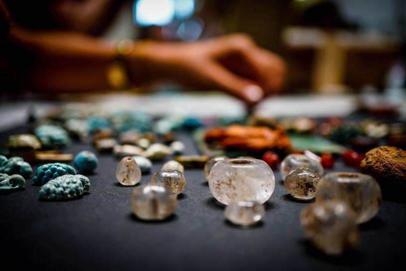 Skarb odkryty w Pompejach /CESARE ABBATE /PAP/EPA