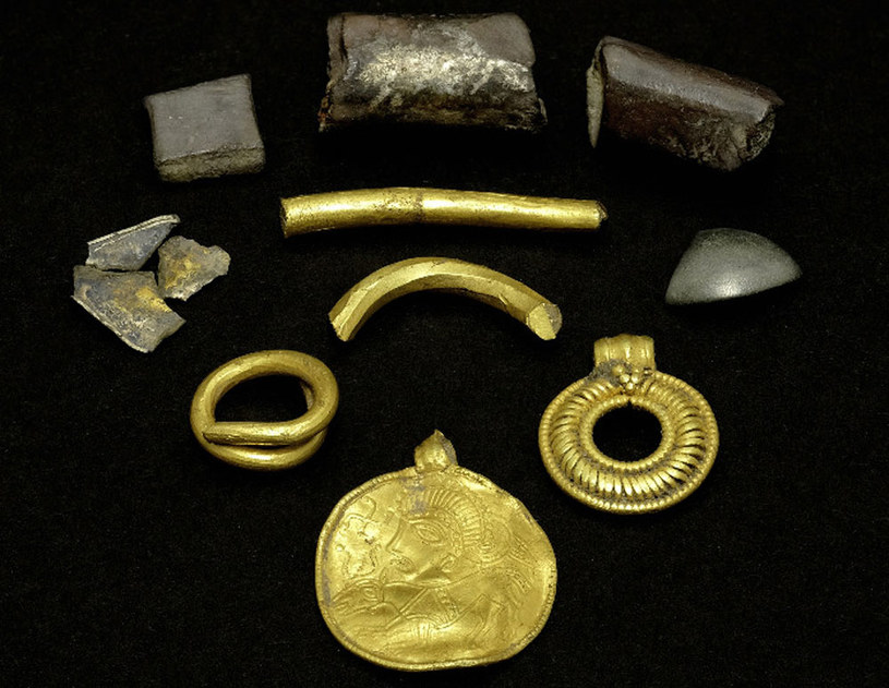 Skarb znaleziony na wyspie Lolland fot. Museum Lolland-Falsters /&nbsp
