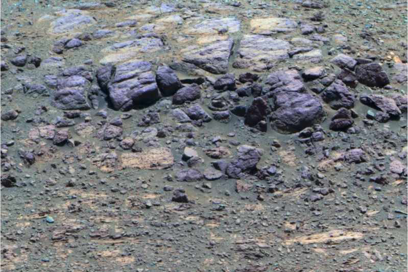 Skarpa Coal Island sfotografowana 29 sierpnia 2013 roku /NASA