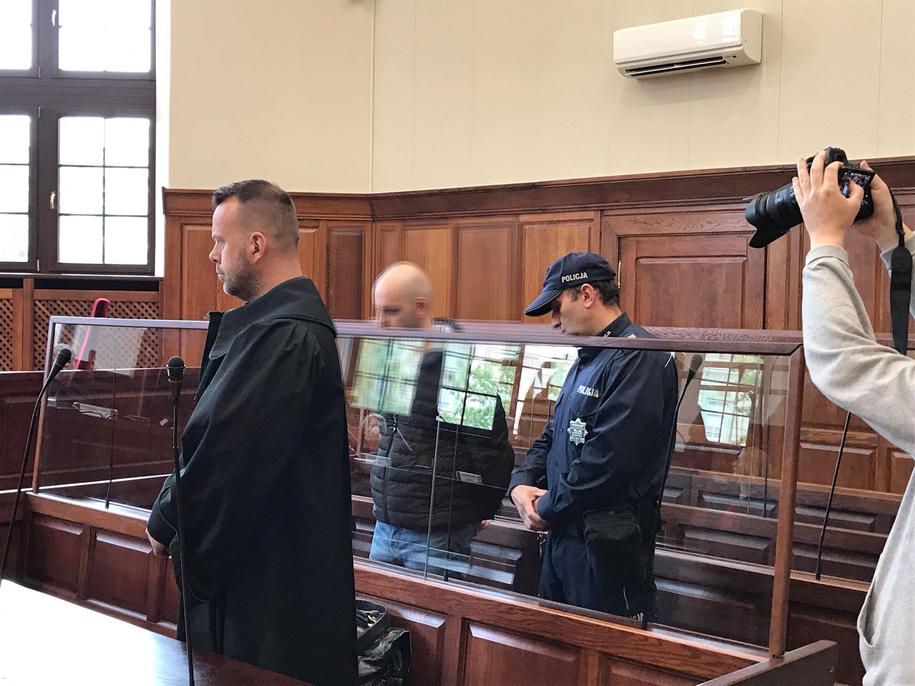 Skazany na 25 lat więzienia Mateusz K. /Mateusz Czmiel /RMF FM