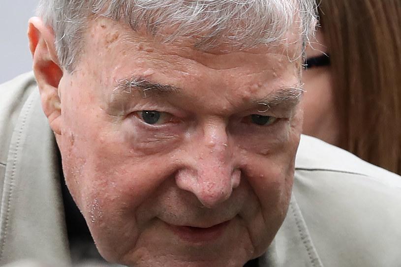 Skazany za pedofilię kardynał George Pell złożył apelację w Sądzie Najwyższym /CON CHRONIS  /AFP