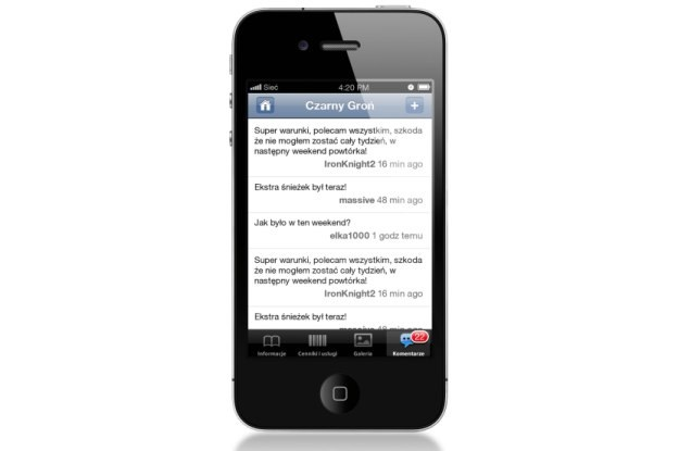 Skiraport - aplikacja dla narciarzy /materiały prasowe