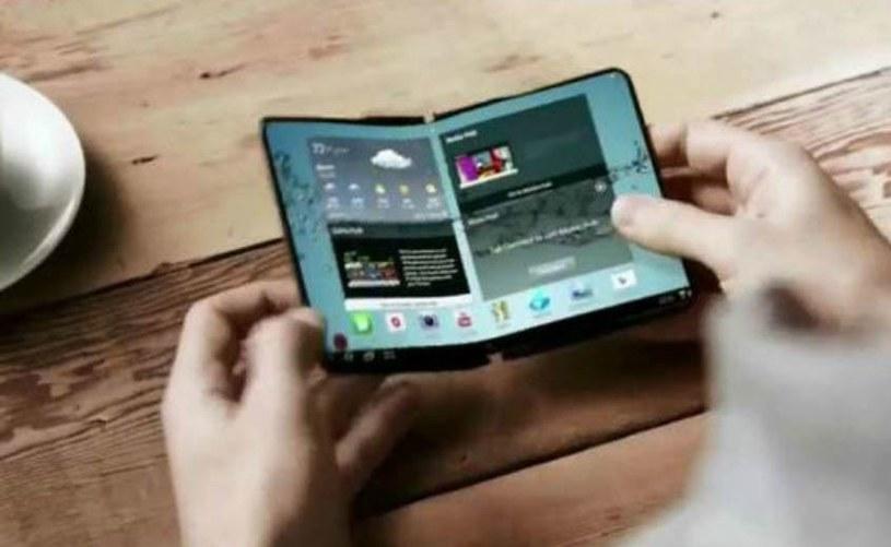 Składany smartfon Samsunga może być bardzo drogi /materiały prasowe