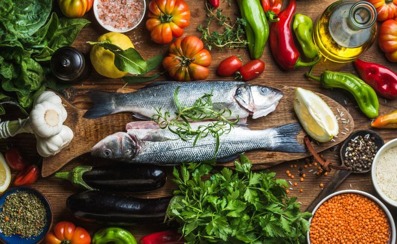 Składniki diety śródziemnomorskiej /123RF/PICSEL