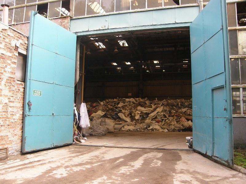 Składowisko odpadów przenosi się do hali /Aneta Łuczkowska /RMF FM
