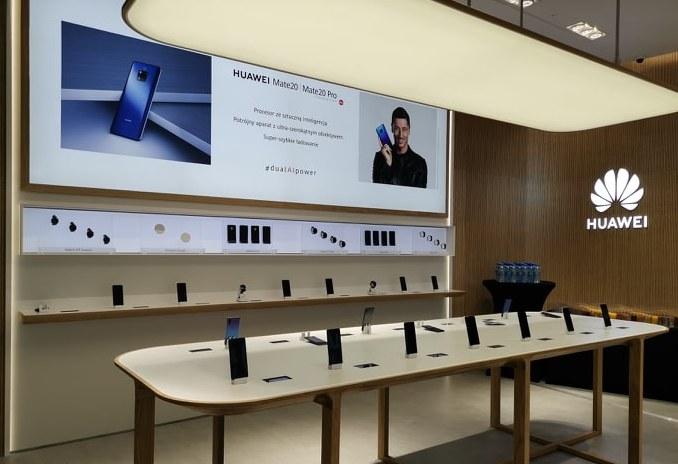 Sklep Huawei w Warszawie /materiały prasowe