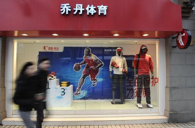 Sklep pozwanej firmy w Szanghaju /AFP