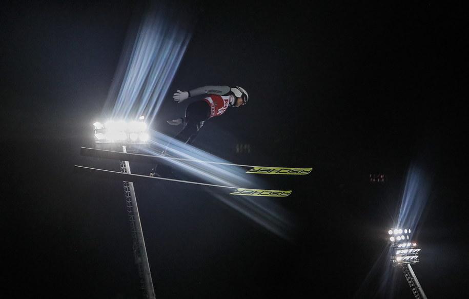 Skoczek narciarski Simon Ammann /Sergei Ilnitsky /PAP/EPA