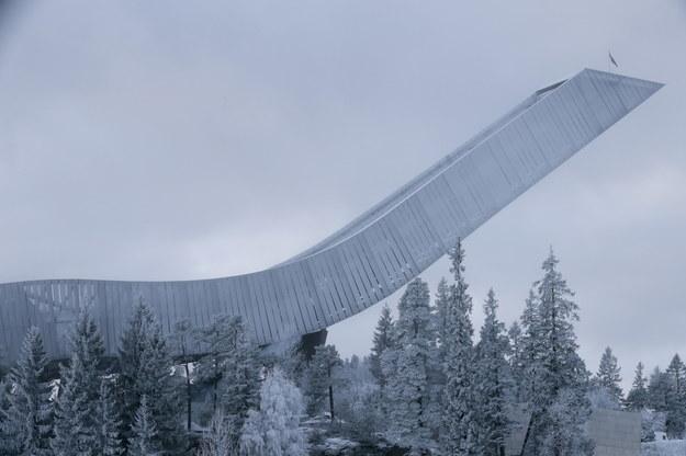 Skocznia  Holmenkollen w Norwegii /LISE ASERUD /PAP/EPA