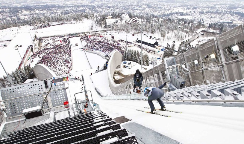 Skocznia Holmenkollen /AFP