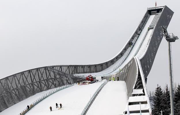 Skocznia Midstubakken w Oslo /AFP