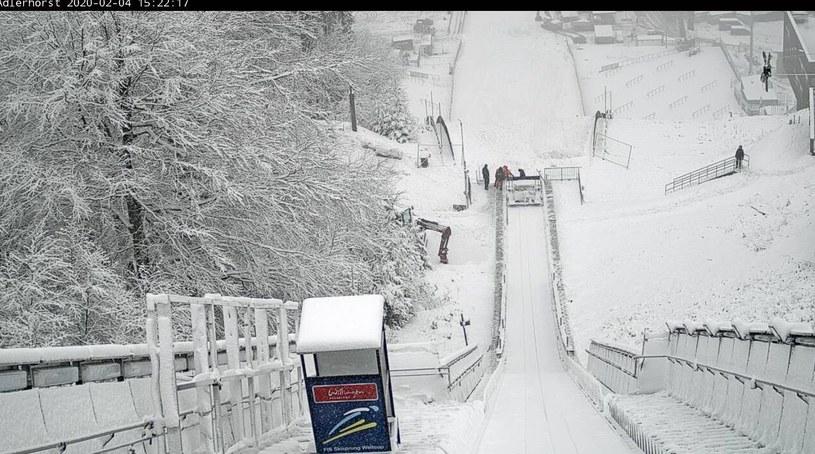 Skocznia narciarska w Willingen/ Źródło: WebCam /