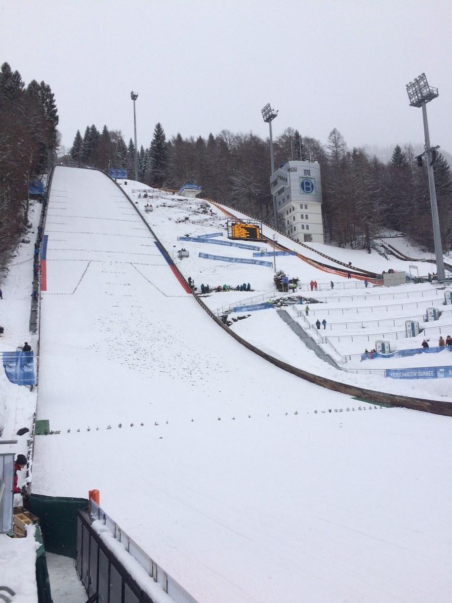 Skocznia w Bischofshofen /Patryk Serwa?ski /RMF FM