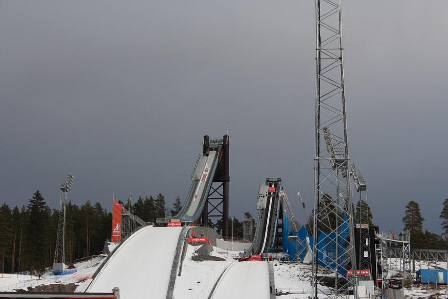 Skocznia w Falun /Kacper Merk /RMF FM