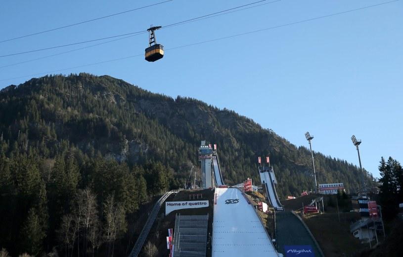 Skocznia w Oberstdorfie /PAP/EPA