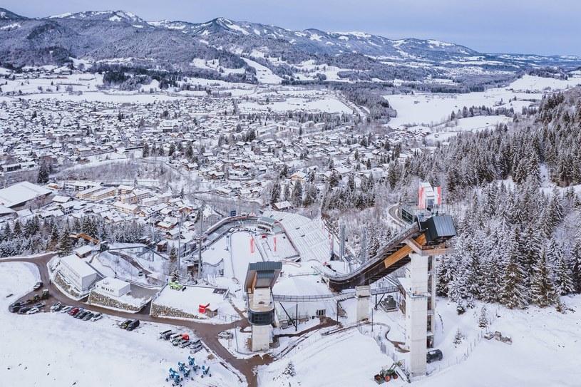 Skocznia w Oberstdorfie /EXPA/NEWSPIX.PL /Newspix