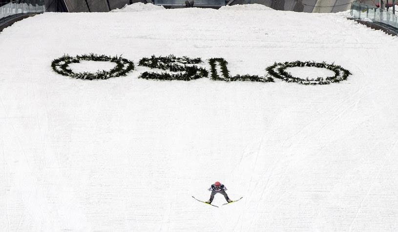 Skocznia w Oslo-Holmenkollen /AFP