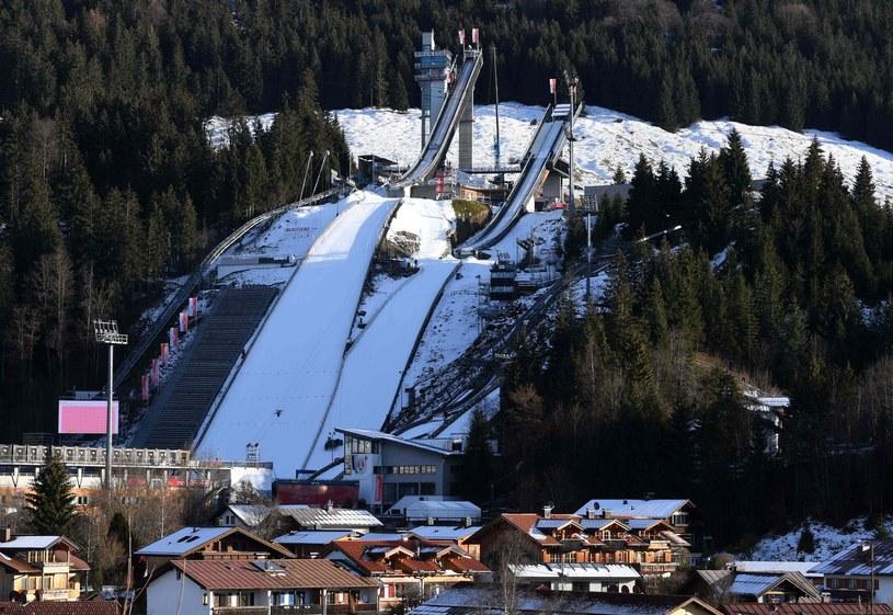 Skocznie w Oberstdorfie /AFP